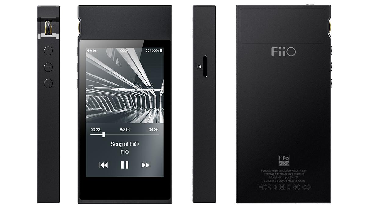 FiiO製 ハイレゾ対応デジタルオーディオプレーヤー「M7」が6月下旬よりリリース