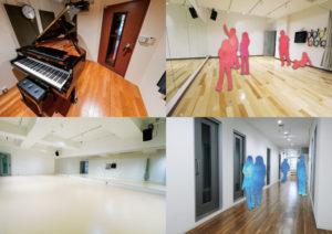 ダンス・アカペラ・ピアノ・イベントホール超大型複合スタジオ!!神戸元町に誕生
