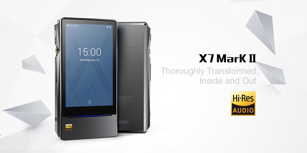 今ならFiiO「X7 Mark Ⅱ」公式オンラインショップ購入で128GB SD プレゼント