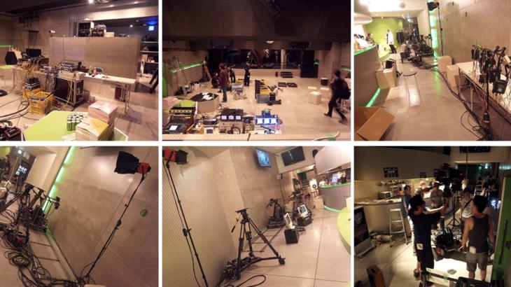 ライブハウスやスタジオでMVやPVを撮影してみませんか?