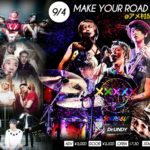 『Dr.UNDY presents. MAKE YOUR ROAD vol.2』@アメリカ村BEYOND いよいよ来週9月4日開催に迫る
