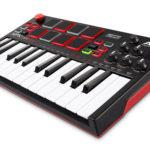 小型&電池駆動でどこにでも持ち運び可能な音源内蔵MIDIキーボード/パッドコントローラー「MPK Mini Play」