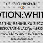 12月13日、ZircoTokyoにて、DE BESO pre.「POTION : WHITE」開催!