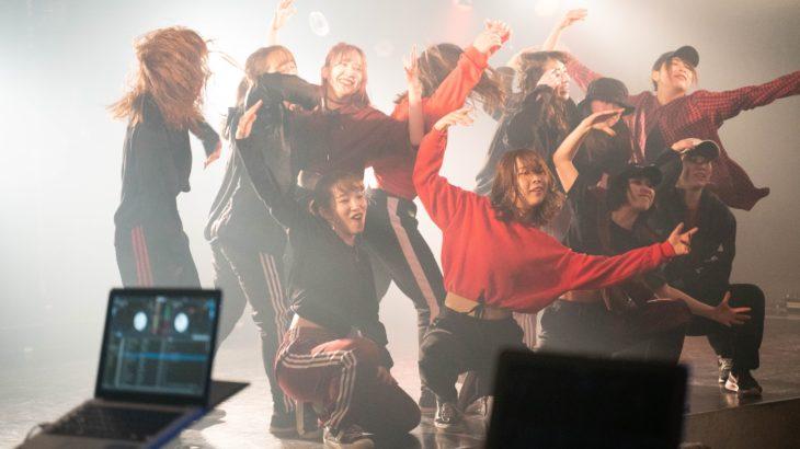 学生達による熱いステージを見せた「ジョイントダンスイベント【SPOTLIGHT】vol.5」in 吉祥寺 CLUB SEATA