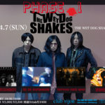 4月7日 北堀江club vijon  THE WET DOG SHAKES presents 「PHASE 1」
