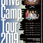 5月28日心斎橋VARON Sunrise In My Attache Case、suga/es「Drive Camp Tour」!