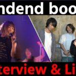 【Andend boom】ライブ&トーク!<1日1組ライブハウスで今注目のアーティスト紹介番組「MUSIC×HUNTER 365」>