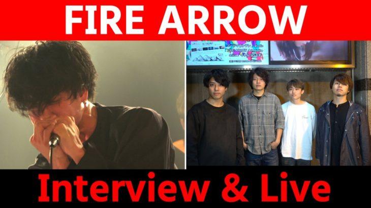 【FIRE ARROW】ライブ&トーク!<1日1組ライブハウスで今注目のアーティスト紹介番組「MUSIC×HUNTER 365」>