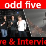 【odd five】ライブ&トーク!<1日1組ライブハウスで今注目のアーティスト紹介番組「MUSIC×HUNTER 365」>