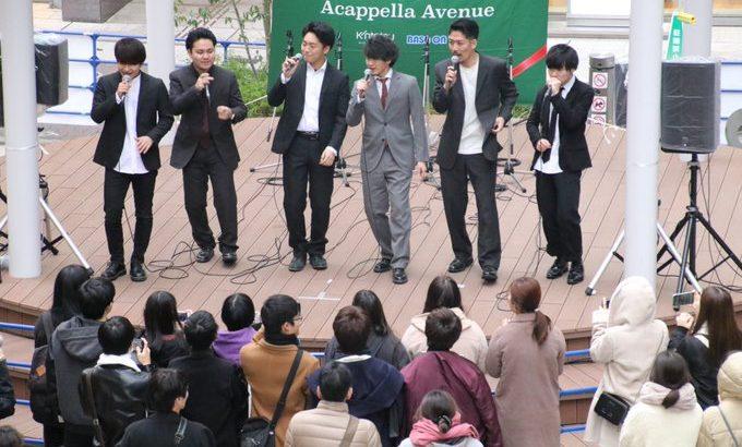 クリスマスで賑わうあべのの街がアカペラで染まる2日間!社会人/大学生アカペラグループ約40組が出演!
