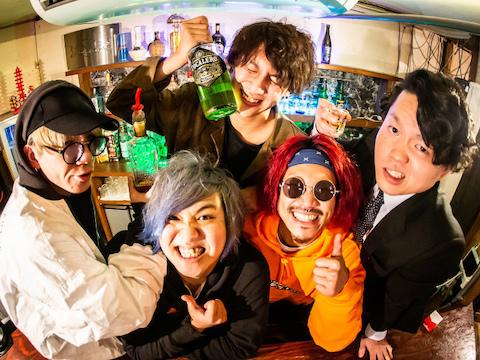"""北海道唯一の情熱的ミクスチャーバンド! """"エネルギッシュ"""" で""""バカ"""" で""""元気"""" で""""カッコイイ""""をモチーフに突き進む彼らが登場!!【HANABOBI】"""