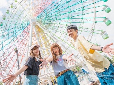 大阪発遊園地系エモポップスリーピースバンド。 『聞けばきっと!見ればもっと!笑顔になれる音楽を!』そんな彼彼女らが登場!【全力人間ランド】