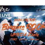 6/16梅田Zeela 脳内リフレイン配信ライブ Brains ROOM