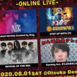2020.8.1大塚Deepa OTSUKADAIGO-ONLINE LIVE-