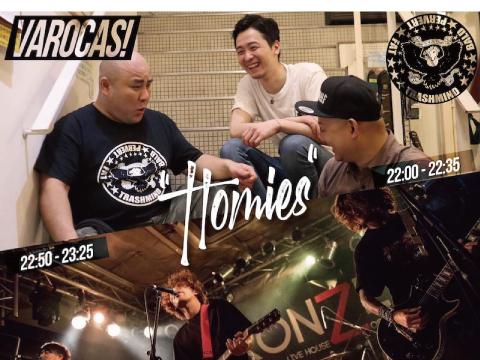 7/17心斎橋VARON VAROCAS! -Homies-
