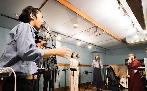 【アカペラレコーディングスタジオ】アカペラグループ桶川ルマンドの皆様にアカペラレコーディングを体験いただきました